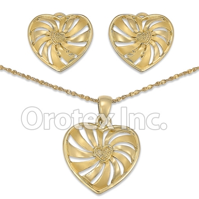 009006 Gold Layered CZ Set