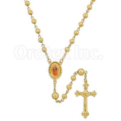 048001 Gold Layered Rosary