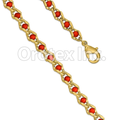 BR155 Orotex Gold Layered Bracelet