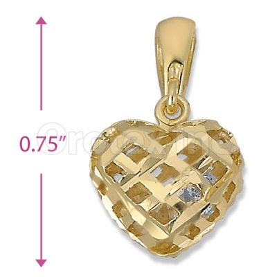 Orotex Gold Layered Fancy Charm