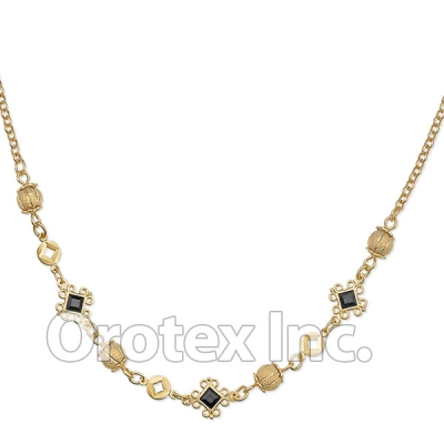 N003 Gold Layered Necklace
