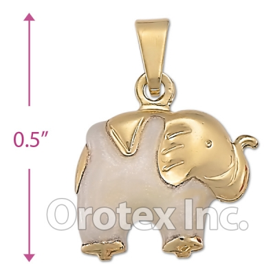 P013 Gold Layered  Charm