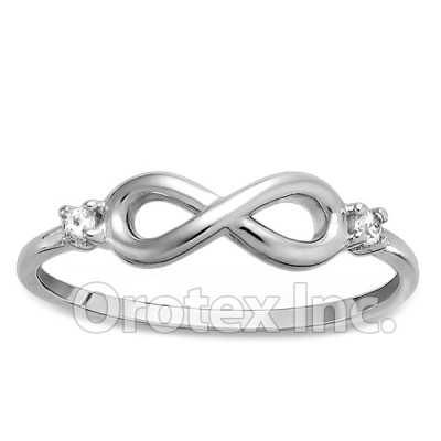 925 Sterling Silver Infinity Women's Ring