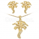 Oro Tex Gold Layered 2-Tone CZ Set