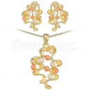 Oro Tex Gold Layered Tri-color Set