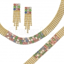 012002 Gold Layered CZ Set