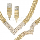 012004 Gold Layered CZ Set