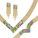 012005 Gold Layered CZ Set
