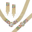 013003 Gold Layered CZ Set