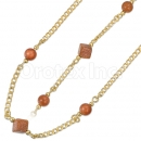 020002 Gold Layered Stone Set