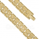 024002 Gold Layered Fancy W Bracelet