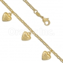 028009 Gold Layered Bracelet