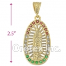 038004 Gold Layered Charm