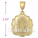038012 Gold Layered Charm