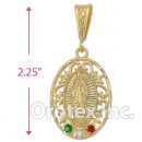 038018 Gold Layered Charm