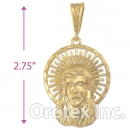 039005 Gold Layered Charm