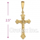 041026 Orotex Gold Layered Charm