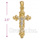 043012 Orotex Gold Layered Charm