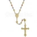 046003B Gold Layered Rosary