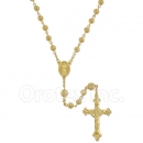 046006 Gold Layered Filigree Rosary