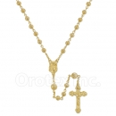 046007 Gold Layered Filigree Rosary