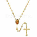048002 Gold Layered Rosary