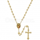 048004 Gold Layered Rosary