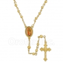 050001 Gold Layered Rosary