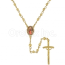 051002 Gold Layered Rosary
