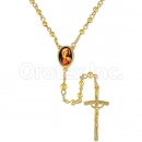 051003 Gold Layered Rosary
