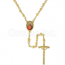 051006 Gold Layered Rosary