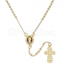 056005 Gold Layered Rosary