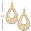 065002 Gold Layered Long Earrings