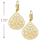 072006 Gold Layered Long Earrings