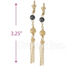 082011 Gold Layered Long Earrings