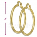 103103 Gold Layered Hoop Earrings