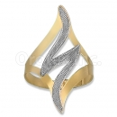 Orotex Gold Layered 2-Tone Ring