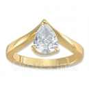 120044 Gold Layered CZ Women's Ring