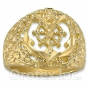 Oro Tex Gold Layered Men's Ring