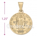 CH2-38 Gold Layered Charm