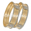 B001Gold Plated CZ Bangle