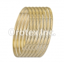 B023 Gold Plated Bangle