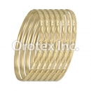 B026 Gold Plated Bangle