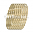 B027 Gold Plated Bangle