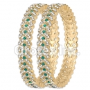 B089 Gold Layered CZ Bangle