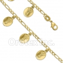 BN 011 Gold Layered Fancy Bracelet