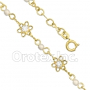 BN 012 Gold Layered Pearl Bracelet
