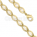 BN 018 Gold Layered Pearl Bracelet