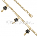 BR026 Gold Layered Anklet