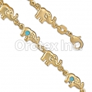BR051 Gold Layered Kids Bracelet